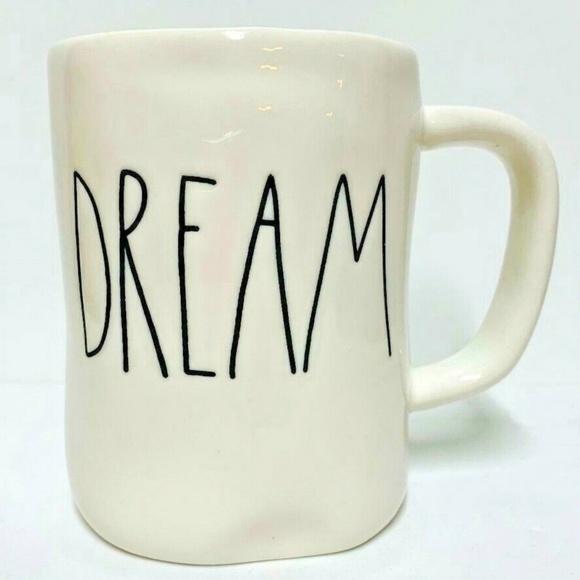"Rae Dunn Other - 🎈🎈~Rae Dunn~""DREAM""~Coffee/Tea/Coco Mug~NEW~ ❤️"